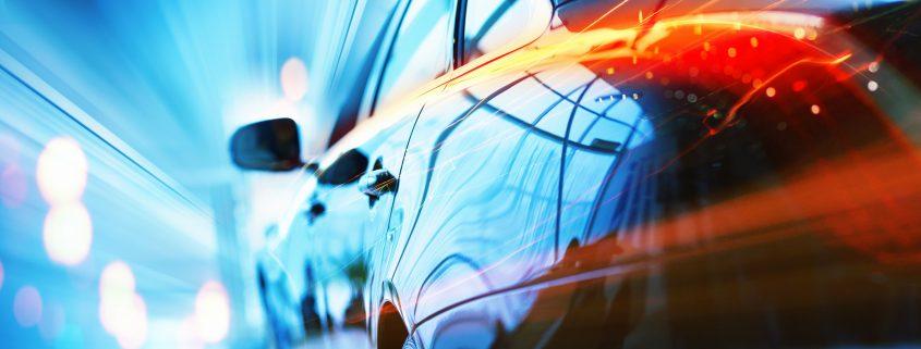 automotive paint singapore applied to a car exterior