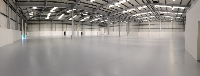 newly laid floor coating in singapore