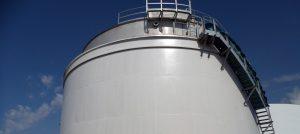 tank coating on storage tank