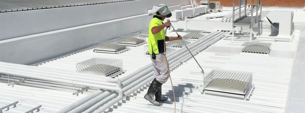 Self Leveling Roof Coating : Insulation coating singapore → companies