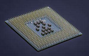 circuit board treated with waterproof coating