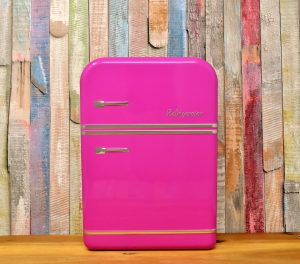 powder coating appliances has resulted in pink high gloss finish