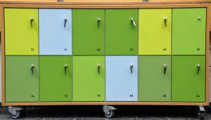powder coating furniture lockers