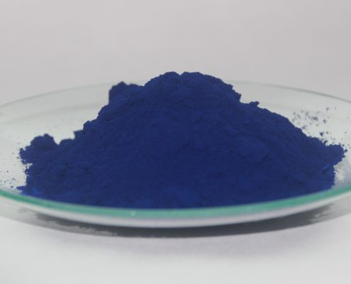 coating additives in blue powder