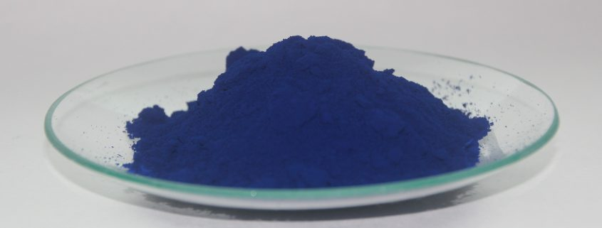 coating additives in blue powder