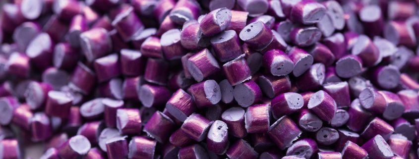 purple binders and resins