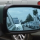 optical coatings on a car mirror
